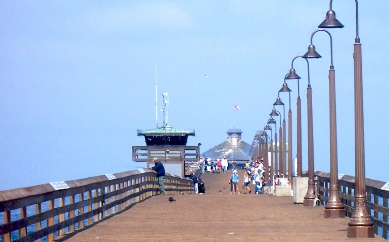 Imperial Beach Pier Pier Fishing In California