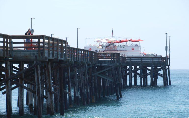 Balboa Pier Pier Fishing In California
