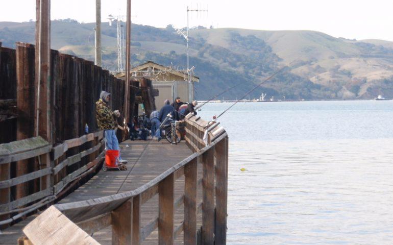 Martinez Pier - Pier Fishing in California