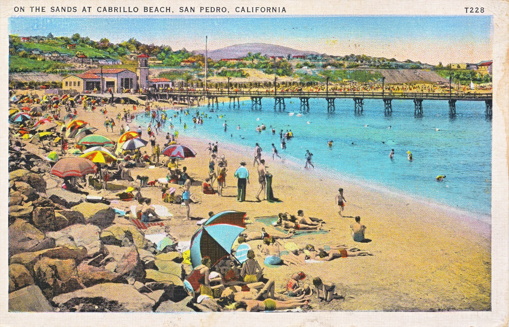 The Cabrillo Beach And Pier 1942