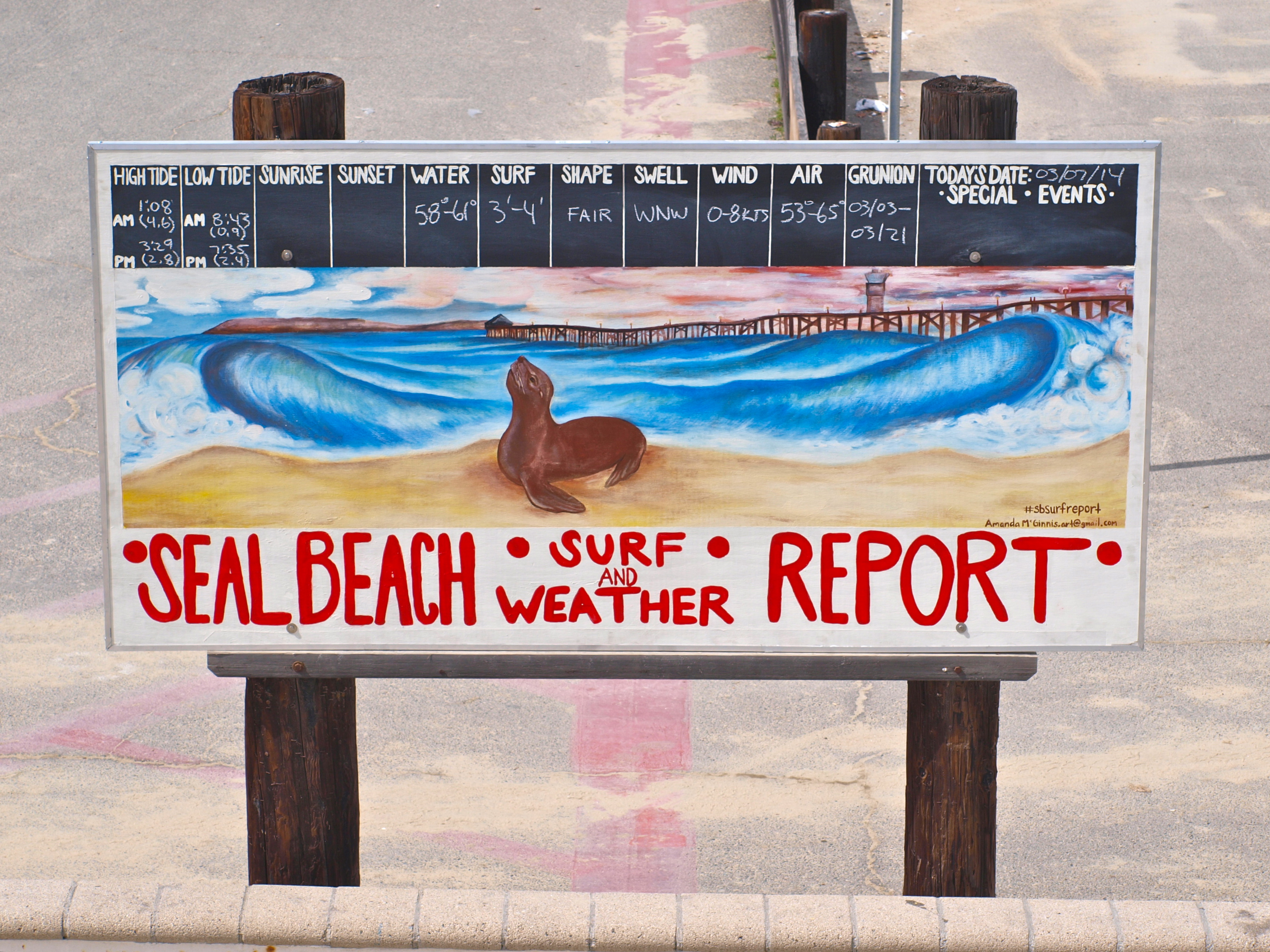 Seal Beach Pier Page 5 Of 7