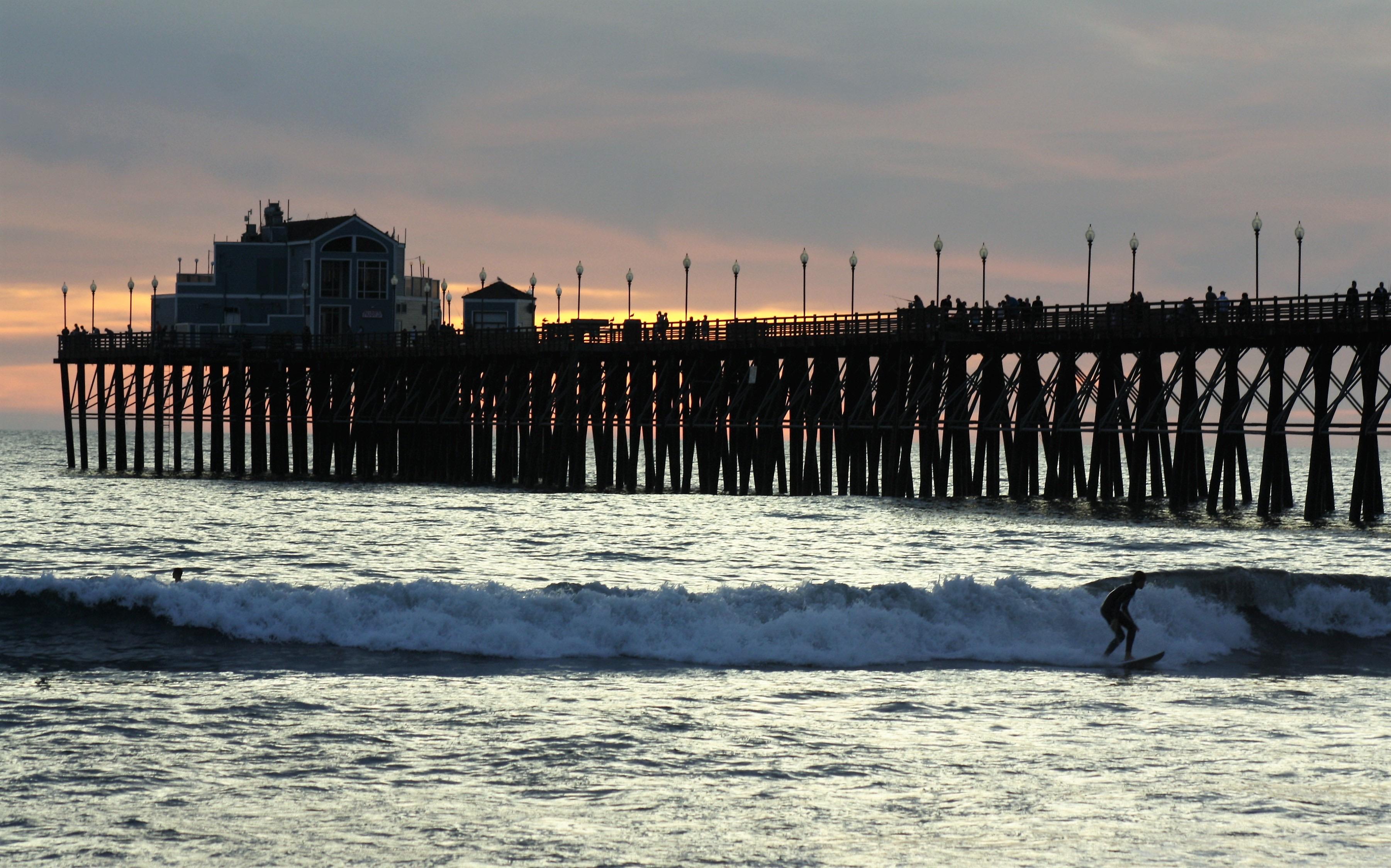 Oceanside Pier Pier Fishing In California